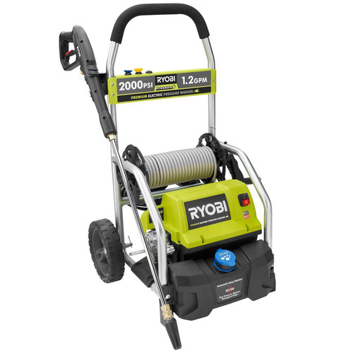 Factory Reconditioned Ryobi ZRRY141900 2,000 PSI 1.2 GPM Electric Pressure Washer