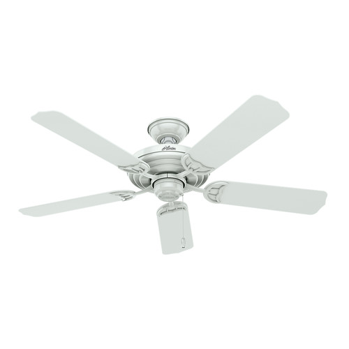 Hunter 53054 52 in. Sea Air White Ceiling Fan image number 0