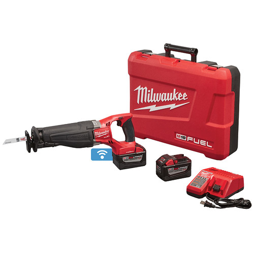 Milwaukee 2721-22HD M18 FUEL SAWZALL Reciprocating Saw Kit with ONE-KEY Technology image number 0
