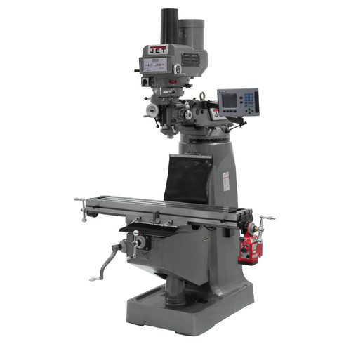 JET JTM-4VS Mill with ACU-RITE 200S DRO and X-Axis Powerfeed & Power Draw Bar image number 0