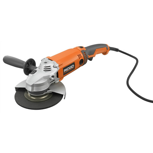 Factory Reconditioned Ridgid ZRR1020 13 Amp 7 in. Twist Handle Angle Grinder