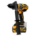 Dewalt DCD999T1 20V MAX Brushless Lithium-Ion 1/2 in. Cordless Hammer Drill Driver Kit with FLEXVOLT ADVANTAGE (6 Ah) image number 1