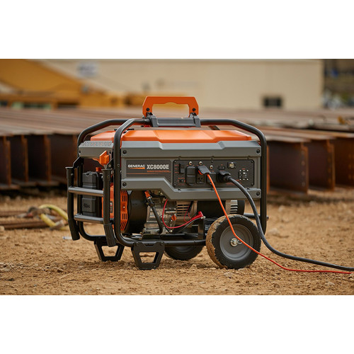 Generac 6826 8,000 Watt Gas Portable Generator with Electric Start (Non-CARB) image number 3
