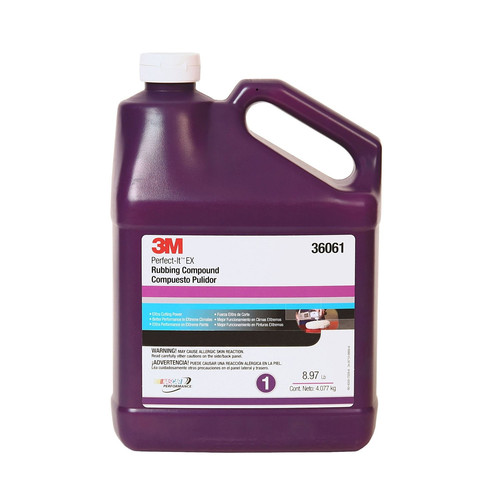 3M 36061 Perfect-It EX Rubbing Compound Gallon image number 0