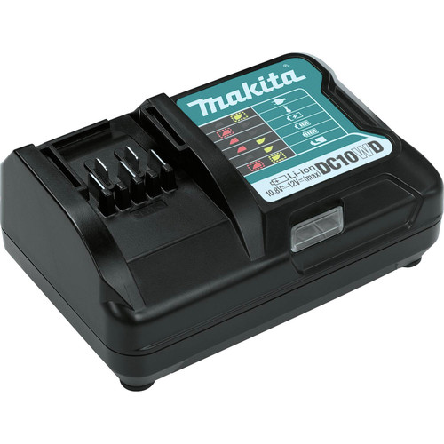 Makita FD09R1 12V max CXT Lithium-Ion Brushless 3/8 in. Cordless Drill Driver Kit (2 Ah) image number 3