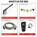 Simpson 60688 Aluminum 4200 PSI 4.0 GPM Professional Gas Pressure Washer with CAT Triplex Pump image number 1