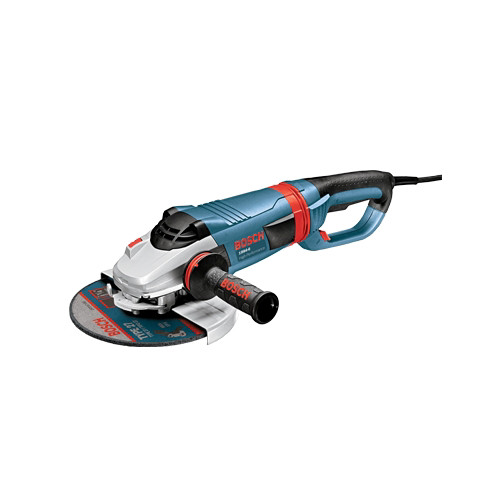 Bosch 1994-6D 9 in. 4 HP 6,500 RPM Large Angle Grinder with No Lock-On