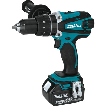 Makita XFD03M 18V LXT Lithium-Ion 1/2 in. Cordless Drill Driver Kit (4 Ah) image number 1