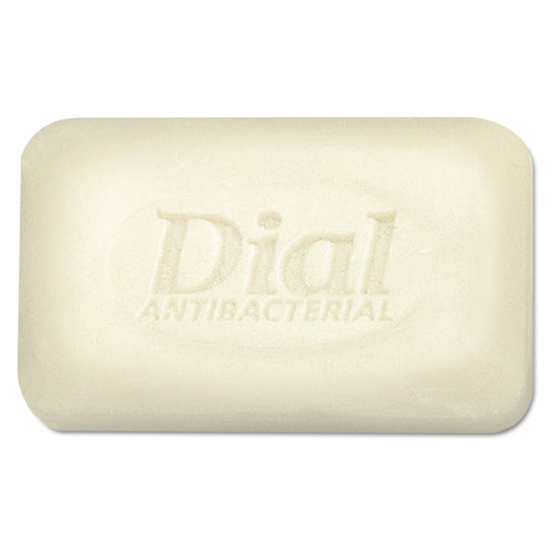 Dial 98 Antibacterial Deodorant Bar Soap, Unwrapped, White, 2.5oz, 200/carton image number 0