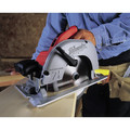Milwaukee 6391-21 7-1/4 in. Left Blade Circular Saw with Case image number 1