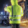 Makita DCJ206ZL 18V LXT Lithium-Ion Cordless High Visibility Heated Jacket (Jacket Only) - Large image number 4