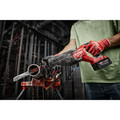 Milwaukee 2821-21 M18 FUEL Brushless Lithium-Ion SAWZALL 1-1/4 in. Cordless Reciprocating Saw Kit with (1) Battery (5 Ah) image number 13