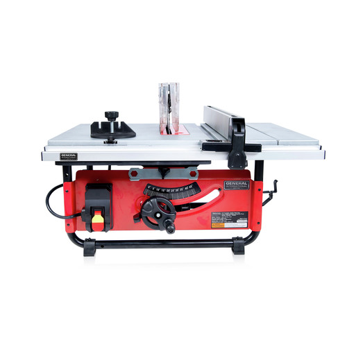 General International TS4003 10 in. Commercial Benchtop & Portable Table Saw