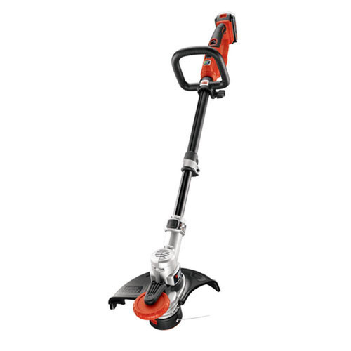 Black & Decker LST400 20V MAX Cordless Lithium-Ion High-Performance 12 in. Straight Shaft String Trimmer