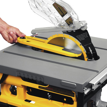 Factory Reconditioned Dewalt DWE7480R 10 in. 15 Amp Site-Pro Compact Jobsite Table Saw image number 11