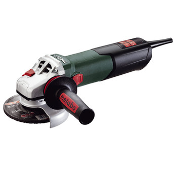 Metabo WEV15-125 Quick 13.5 Amp 5 in. Angle Grinder with VC Electronics and Lock-On Slide Switch