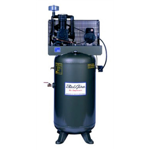 IMC 318VN 5 HP 80 Gallon Vertical 2 Stage Reciprocating Corded Electric Air Compressor image number 0