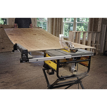 Factory Reconditioned Dewalt DWE7480R 10 in. 15 Amp Site-Pro Compact Jobsite Table Saw image number 13