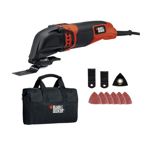Black & Decker BD200MTB 2 Amp Oscillating Multi-Tool