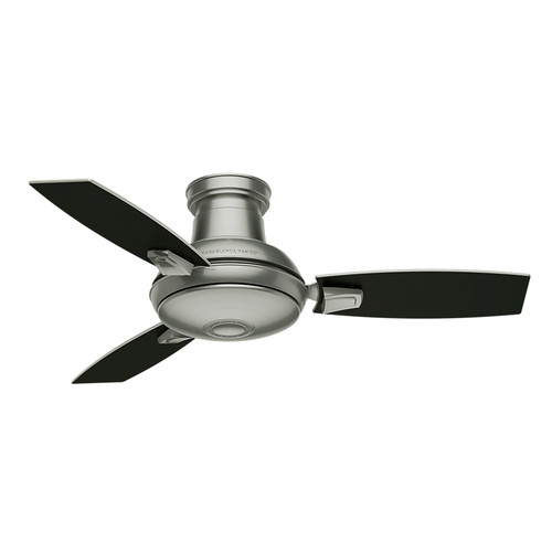 Casablanca 59155 44 in. Verse Satin Nickel Ceiling Fan with Light and Remote image number 7