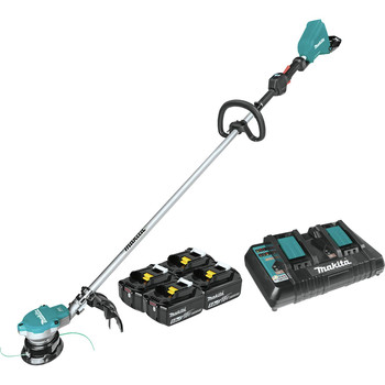Makita XRU15PT1 18V X2 (36V) LXT Brushless Lithium-Ion Cordless String Trimmer Kit (5 Ah)