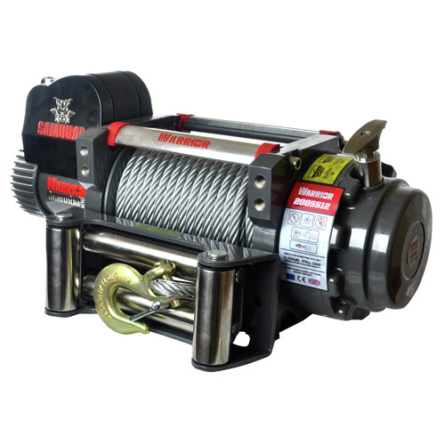 Warrior Winches S20000 20,000 lb. Samurai Series Winch image number 0