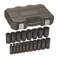 GearWrench 84934N 19-Piece SAE 1/2 in. Drive Deep Impact Socket Set