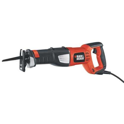 Factory Reconditioned Black & Decker RS600KR 8.5 Amp Reciprocating Saw Kit with 6 Speed Control