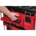 Milwaukee 8425-8431-BNDL PACKOUT Large Tool Box and Low-Profile Organizer Bundle image number 7