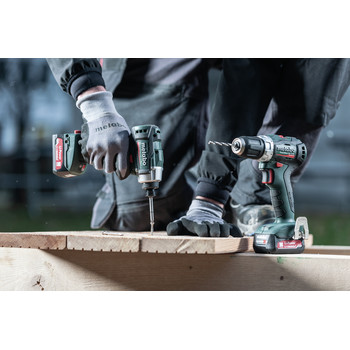 Metabo 685165520 PowerMaxx 12V 4.0 Ah LiHD SSD 12 BL Cordless Impact Driver and SB 12 BL Hammer Drill Combo Kit image number 1