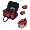Porter-Cable PCCB122C2-685L-795B 20V MAX 2 Gallon Wet/Dry Vacuum with Battery Kit
