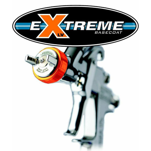 Iwata LPH400-144LVX 1.4mm Extreme Basecoat Air Spray Gun with 1000mL Cup