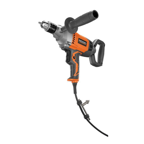 Factory Reconditioned Ridgid ZRR7122 9 Amp 0 - 500 RPM 1/2 in. Corded Mud Mixing Drill with Spade Handle image number 0