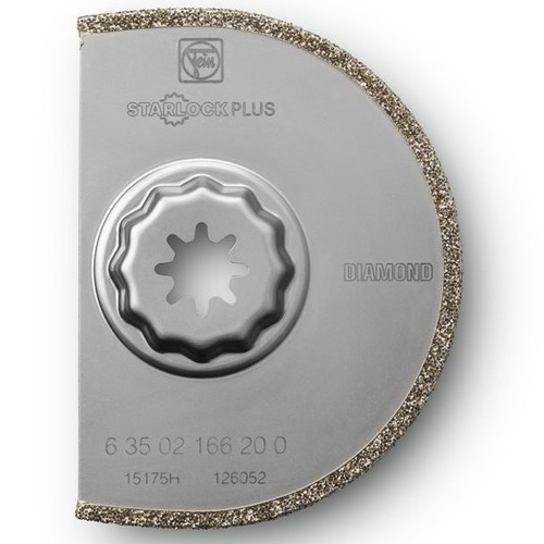 Fein 63502166230 3-9/16 in. Segmented Diamond Circular Oscillating Saw Blade (5-Pack) image number 0