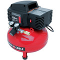 Factory Reconditioned Porter-Cable PCFP02003R 135 PSI 3.5 Gallon Oil-Free Pancake Compressor image number 4