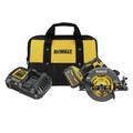 Dewalt DCS578X1 FLEXVOLT 60V MAX Brushless Lithium-Ion 7-1/4 in. Cordless Circular Saw Kit with Brake and (1) 9 Ah Battery image number 0