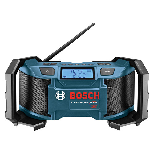 Bosch PB180 18V Lithium-Ion AM/FM Radio with MP3 Compatibility