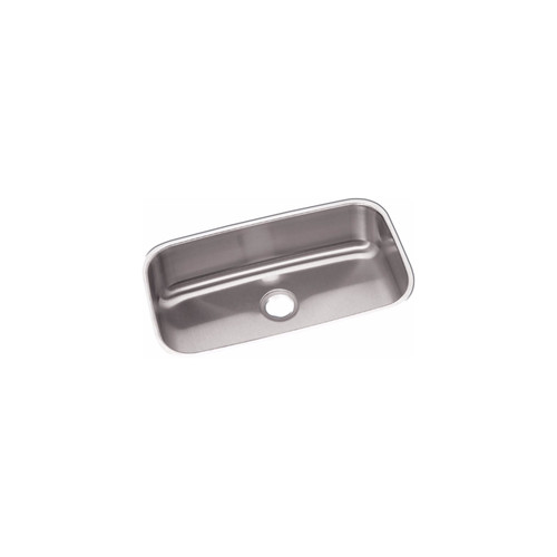 Elkay DXUH2816 18-Gauge Stainless Steel 30.5 x 18.25 x 8 in. Single Bowl Undermount Kitchen Sink