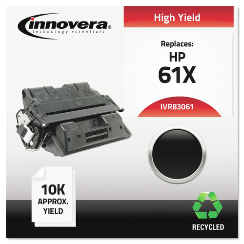 Innovera IVR83061 Remanufactured C8061x (61x) High-Yield Toner, Black image number 0