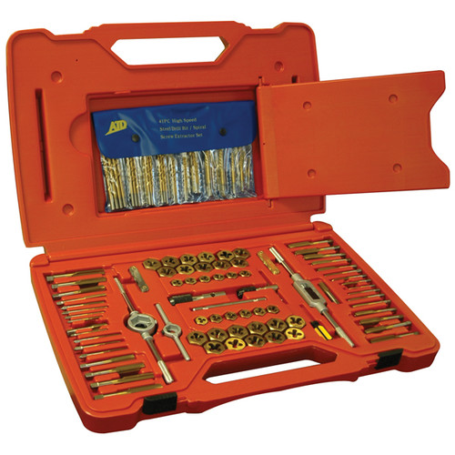 ATD 277 117-Piece Tap and Die Set with Drill Bit Set image number 0