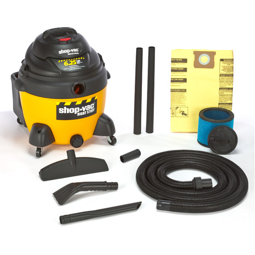 Shop-Vac 9625210 16 Gallon 6.25 Peak HP Right Stuff Wet/Dry Vacuum