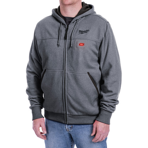 Milwaukee 302G-202X M12 12V Li-Ion Heated Hoodie (Jacket Only) - 2XL image number 0