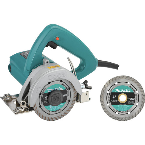 Makita 4100NHX1 4-3/8 in. Masonry Saw with 1 Free Diamond Blade