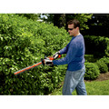 Black & Decker LHT2436 40V MAX Cordless Lithium-Ion 24 in. Dual Action Hedge Trimmer image number 3