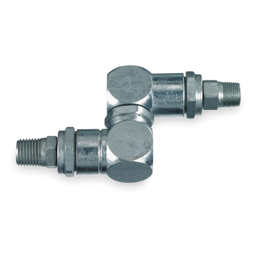 Lincoln Industrial 83594 1/4 in. x 1/4 in. NPT Universal High Pressure Swivel