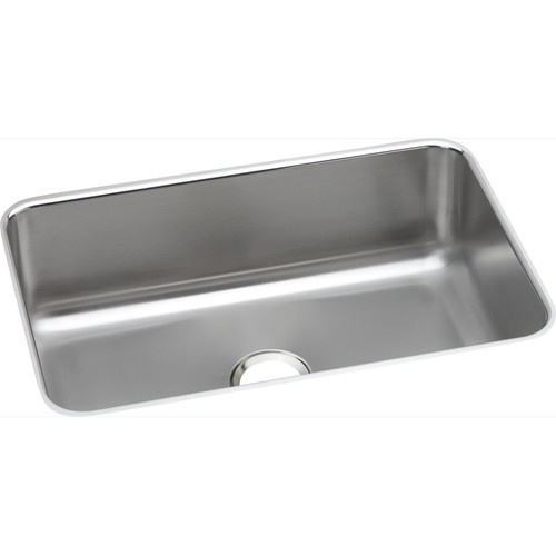 Elkay DXUH2416 Dayton Undermount 26-1/2 in. x 18-1/2 in. Single Basin Kitchen Sink (Steel)