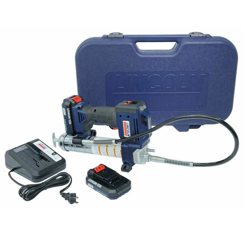 Lincoln Industrial 1884 20V Cordless Lithium-Ion PowerLuber Grease Gun Kit