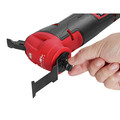 Milwaukee 2526-20 M12 FUEL Brushless Lithium-Ion Cordless Oscillating Multi-Tool (Tool Only) image number 6