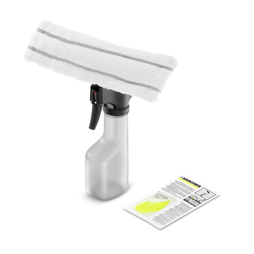 Karcher 2.633-114.0 PowerSqueegee Spray Bottle With MicroFiber Cloth