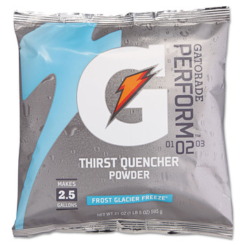 Gatorade 33677 G2 Powdered Drink Mix, Glacier Freeze, 21oz Packet, 32/Carton image number 0